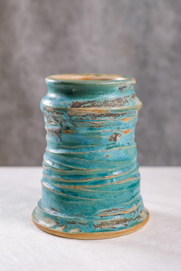 contemporary ceramic vase by gary wood