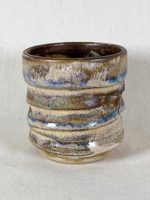 chun tea bowl stoneware by gary wood