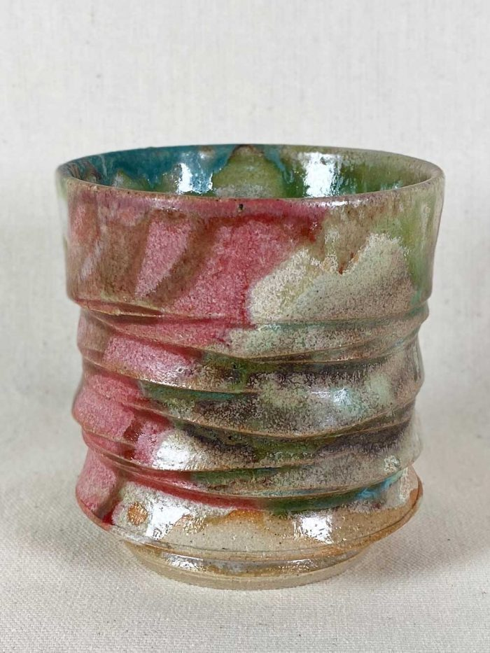 unique stoneware tea bowl by gary wood