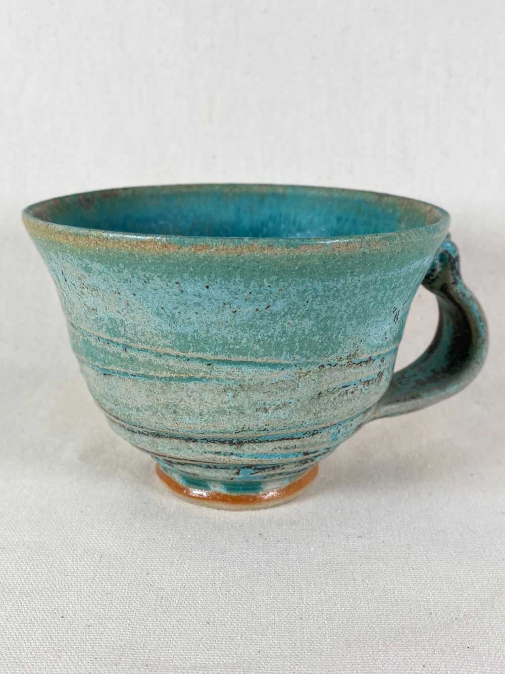 unique contemporary stoneware cup by gary wood