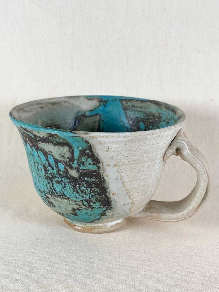 beautiful contemporary stoneware cup by gary wood