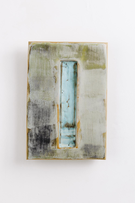 portal 8 by gary wood contemporary ceramic wall installation