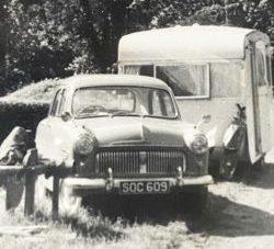 1960's caravan holiday carole waller