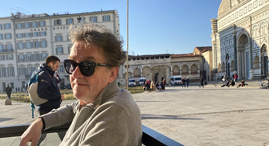 gary by the Duomo in Florence