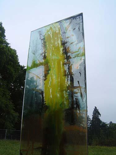 art glass installation carole waller westonbirt